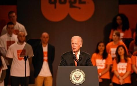 """It's On Us"": Joe Biden Speaks at Syracuse University"