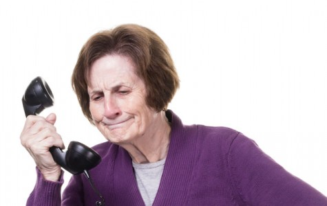 NOT NEWSWORTHY NEWS: Area teen thoroughly enjoys talking to elderly relative on phone