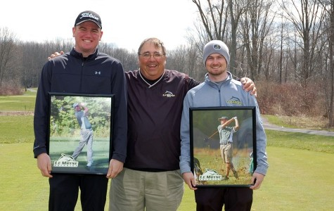 Men's Golf Finishes Second in Home Tourney