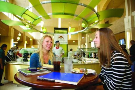 Food for thought when in Le Moyne's LaCasse Dining Center