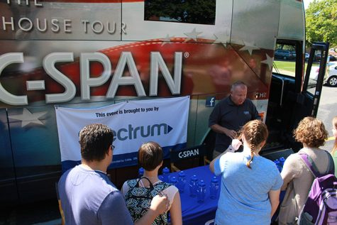C-SPAN bus finds its way to campus