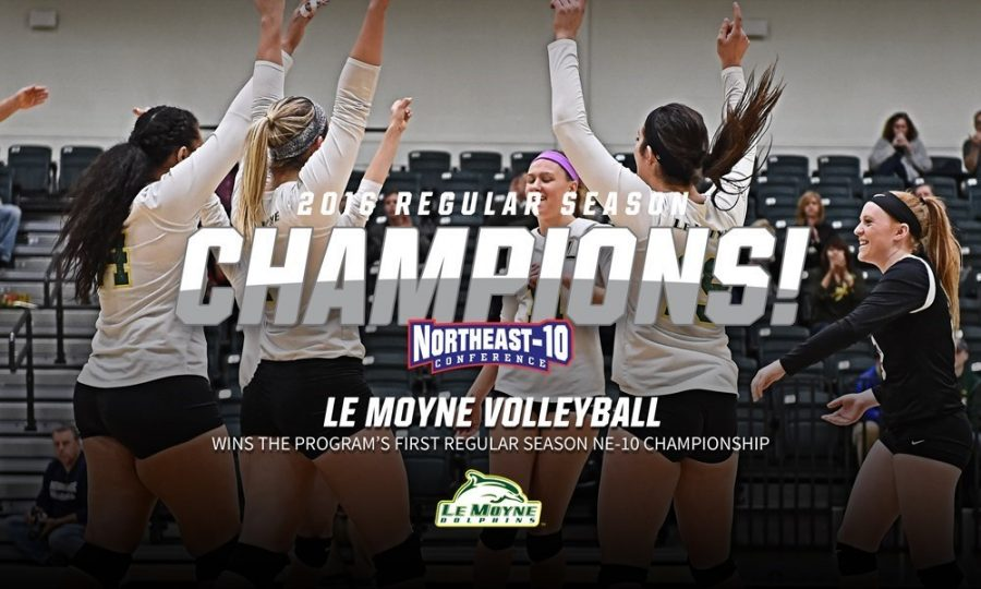 Le Moyne Volleyball Wins First Regular Season Conference Title in Program History