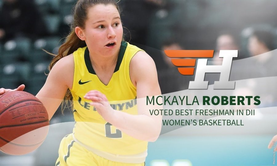 Roberts Voted as Best Freshman in Division II Women's Basketball