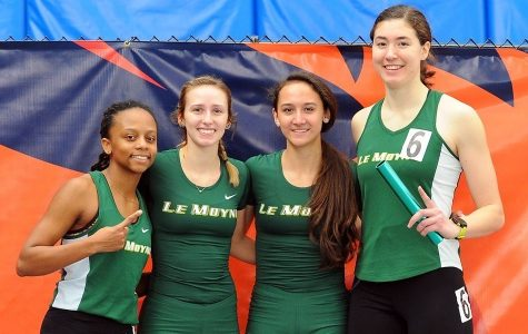 Le Moyne Track Excels