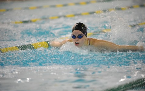 Seniors O'Donnell and Acquaviva lead the 'Phins in New England swimming Catholic Invitational