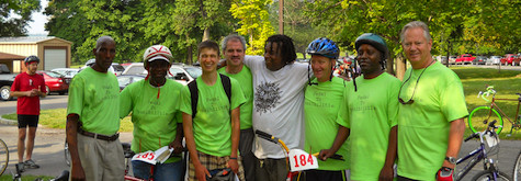Pedaling for a cause