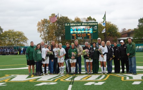 Senior game completes another tough week for women's soccer