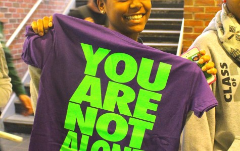 You Are Not Alone week inspires, and encourages students