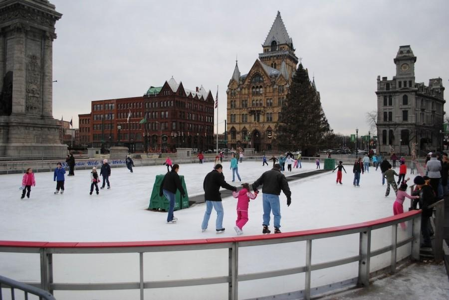 Its Christmas time in the city [of Syracuse]