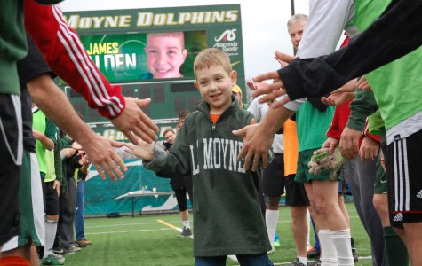 Big smiles, little rookie: Men's soccer gains one-of-a-kind player