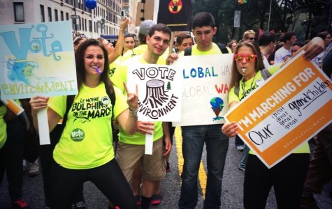 Le Moyne Students Attend Climate March in New York City