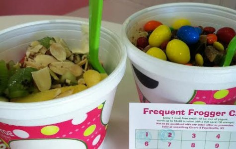 A Restaurant Review by Someone who Digs Food: Sweet Frog-Fayetteville Town Center