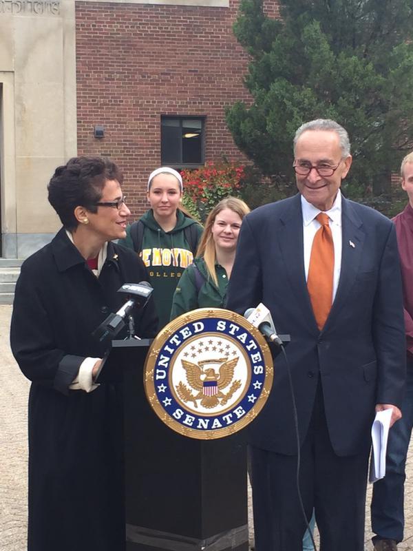 Senator Schumer Pushes for Perkins Loan Program