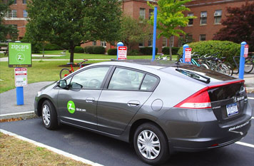 Zipcars come to Campus