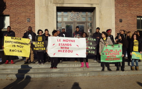 Minority students question their position at Le Moyne in the wake of Mizzou