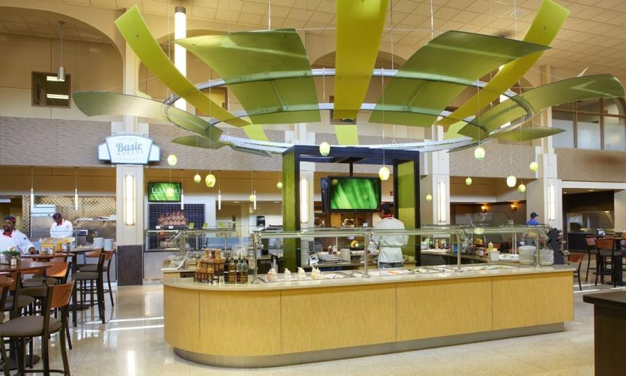 Eating Healthy in the Dining Center