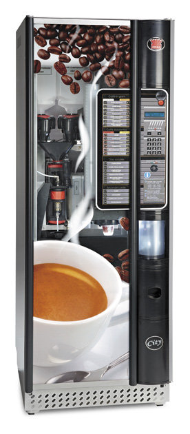 Noreen gets a Coffee Machine