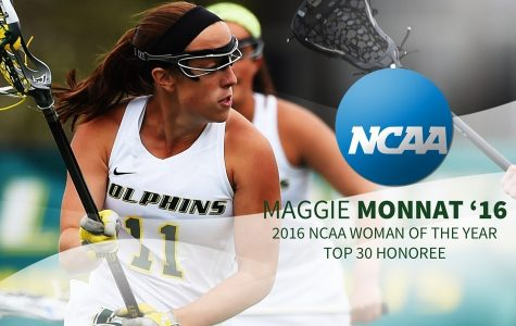 2016 NCAA Woman of the Year Nominee Maggie Monnat Continues To Impress
