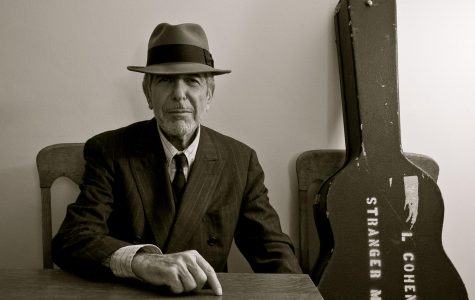 Saying goodbye to the late Leonard Cohen