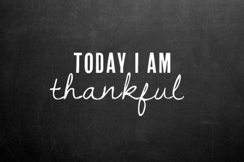 There's so much to be thankful for