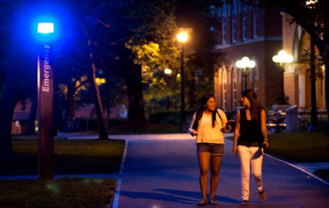 Le Moyne's Blue Light System Needs Some Work