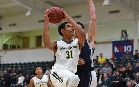 Top Ranked Men's Basketball Moves on in NE-10 Conference Championships
