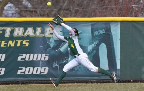 Softball Drops Series Against No. 23 Adelphi