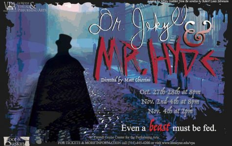 Come See Dr. Jekyll and Mr. Hyde at LeMoyne's Performing Arts Center