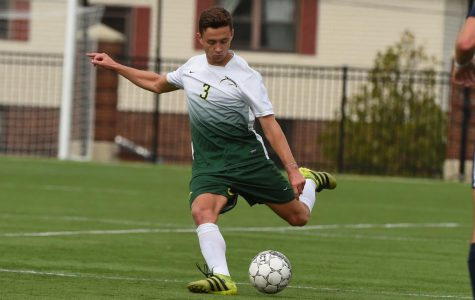 Men's Soccer records NE-10 road win at St. Michael's