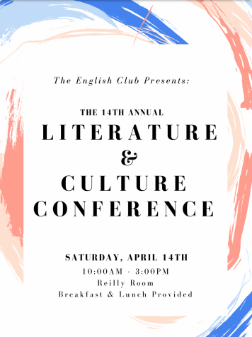 The Literature and Culture Conference is coming