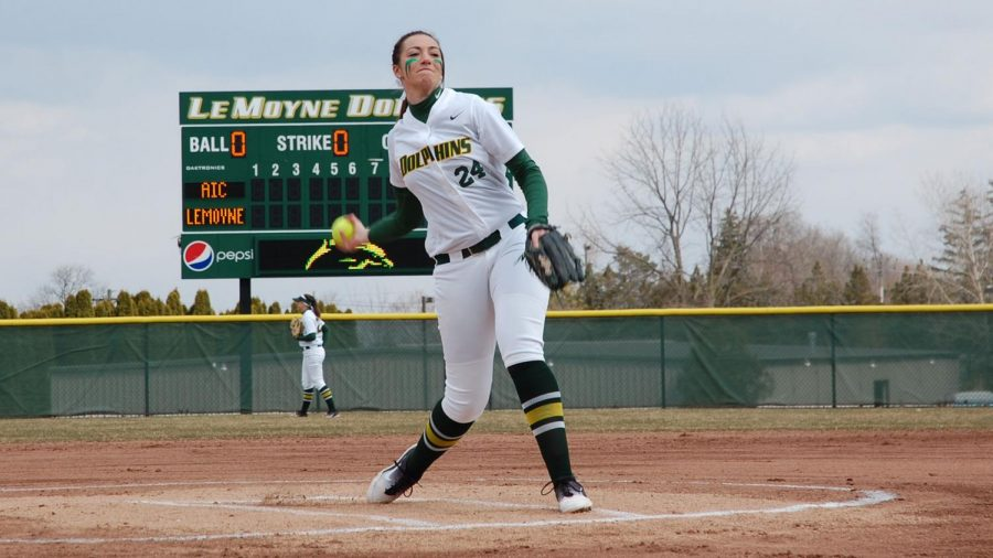 Le+Moyne+Softball+Sweeps+Their+Way+to+a+Perfect+Start+at+Home