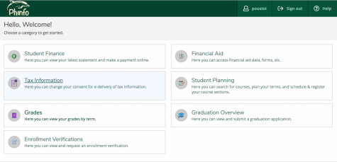 Course Registration and Student Planning moved to Phinfo as WebAdvisor is phased out