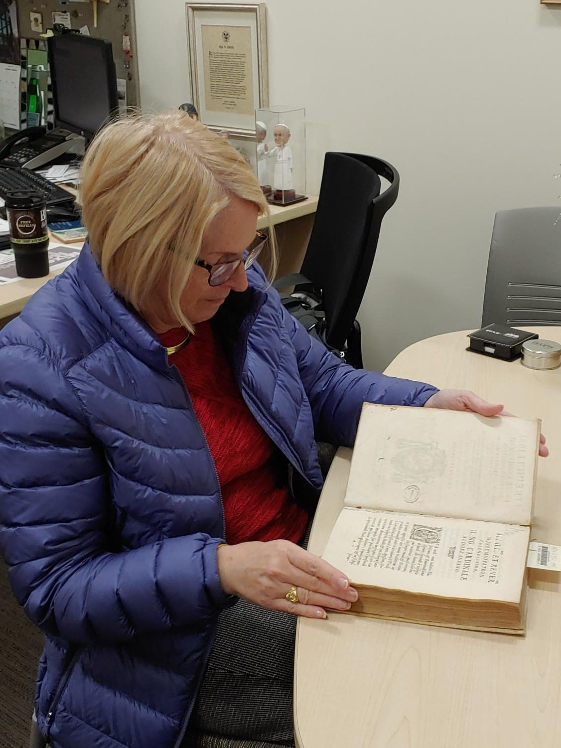 424-Year-Old Uncatalogued Book Found in the Library